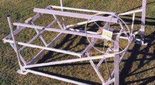 3600 lb.  Cantilever Vertical Boat Lift