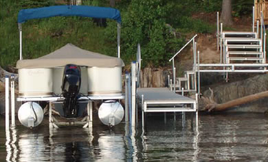 Easy Riser Vertical Lifts | Waterfront Products
