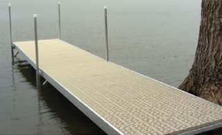 4' x 8'  Sectional Dock