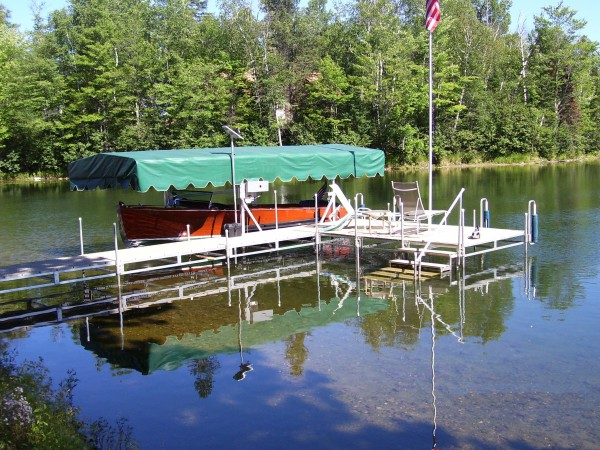 Dock system with Canopy